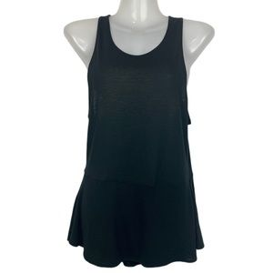 Wilfred | Black Flowy Sleeveless Tank